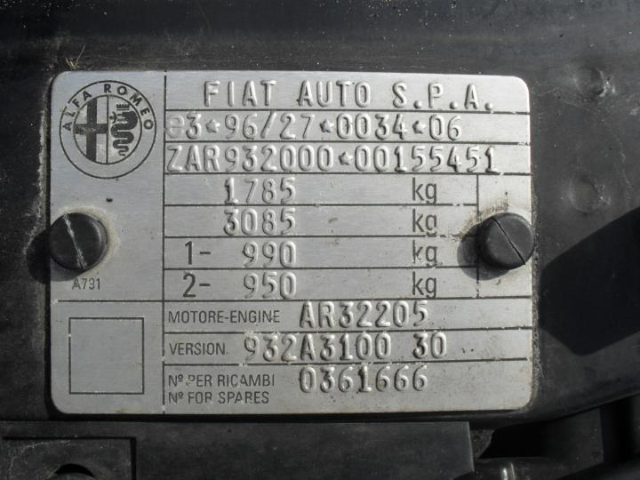 alfa romeo 156 lim. kombi  bild1